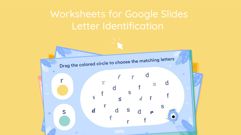 Letter Identification Interactive Worksheets For Google Classroom - Lalilo  Blog