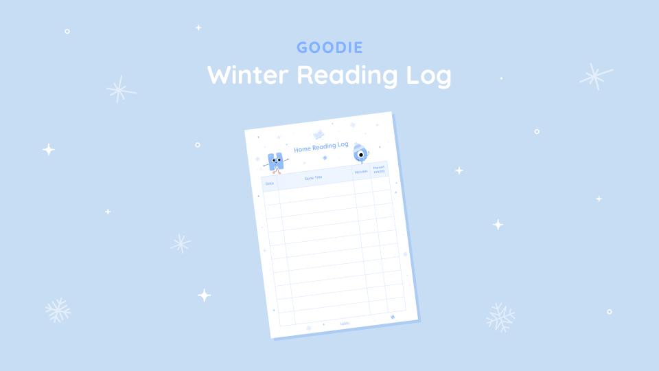 Winter Break Reading Log