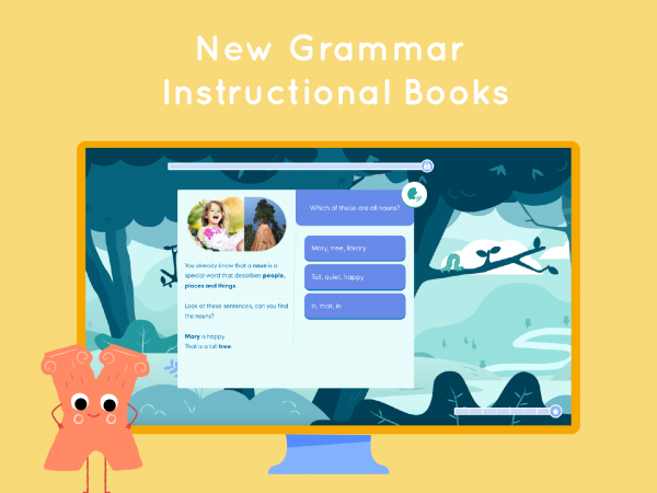 New Grammar Instructional Books