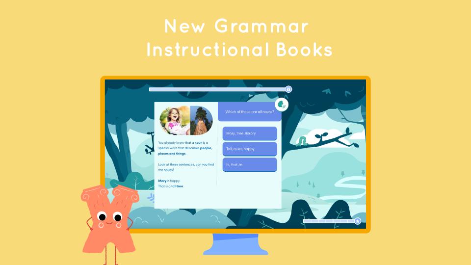 New Grammar Instructional Books