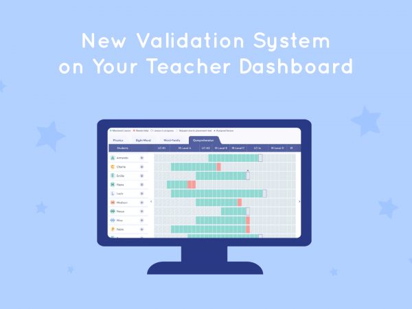 What's New in June—New Lalilo Validation System